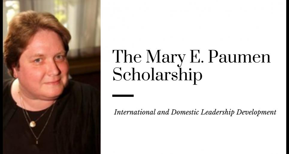 The Mary E. Paumen Scholarship