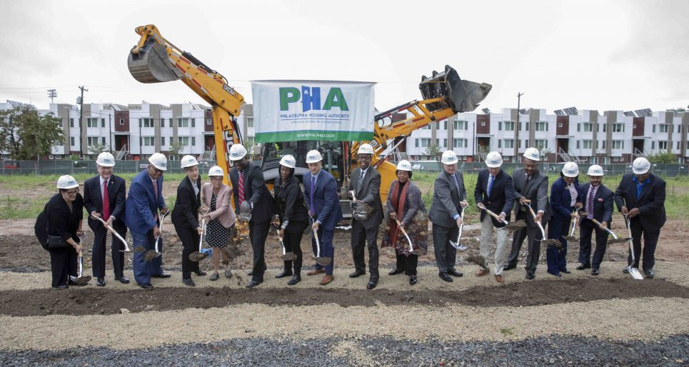 Pennsylvania Housing Authority Norris Groundbreaking