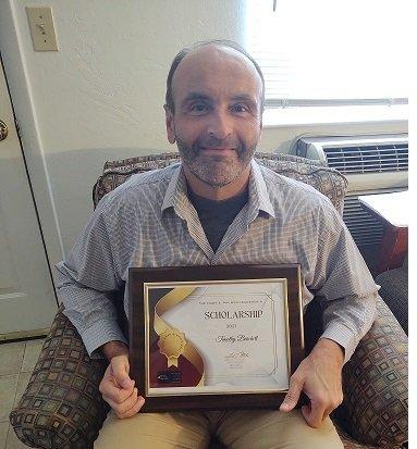 Timothy Burchett, Inaugural Recipient of the Mary E. Paumen Leadership Scholarship