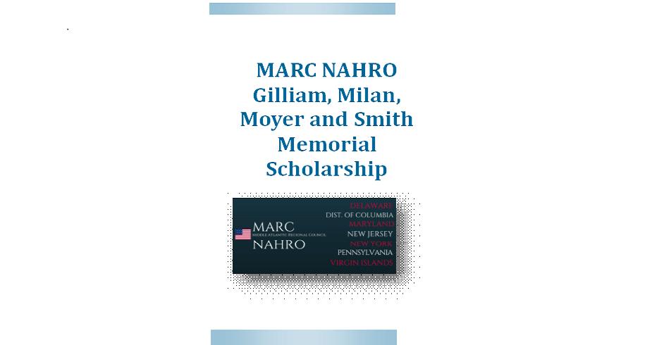 Donate to the MARC NAHRO Memorial Scholarship